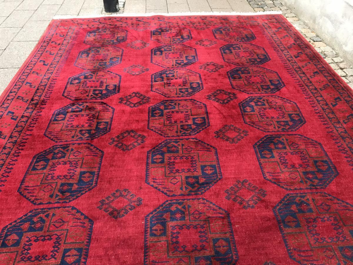 Ægte tæppe275 x 350 cm1500.-kr