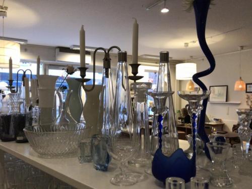 Glas installation