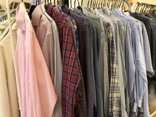 Alt tøj er efterset.
