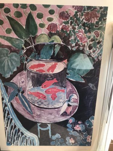 GoldfishHenri Matisse plakat indrammet175.-kr