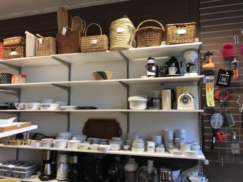 Køkkentøj og kurve